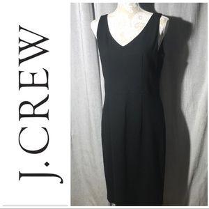 J. Crew A-Line black dress sz 12